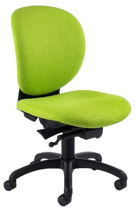 chaise de bureau azéro tissu m1 coloris bleu