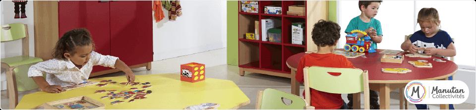 Ligne mobilier de maternelle Lana
