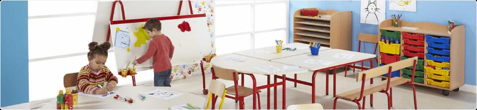 Ligne de mobilier maternelle Elodie