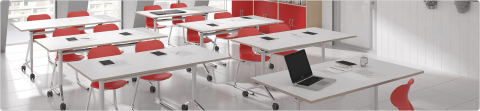 Table scolaire flexible
